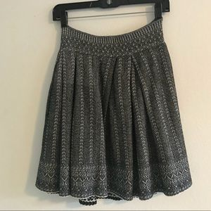 Maje Jacguar Pleated Skirt